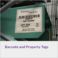Barcode and Property Tags