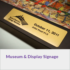 Museum and Display Signage